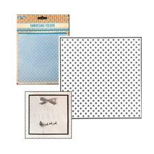 Christmas Embossing Folders Little Snowflakes - Nellie Snellen Folder 6x6