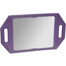 Two Handed Back Mirror For Hair Cuts Hairdressing Barbers Salon PURPLE Kodo
