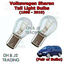 Volkswagen Sharan Tail Light Bulbs Pair of Rear Tail Light Bulb Lights (95-10)