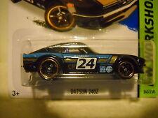 HOT WHEELS DATSUN 240Z CAR ON CARD