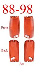 88 98 Chevy Tail Light Lens Set, GMC, Truck, Suburban, Tahoe, Yukon New In Box!