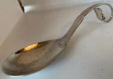 Arts & Crafts Art Nouveau Georg Jensen Silver Spoon Import Marks London 1934