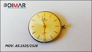 Movement AS.1525/1526 Diameter Esfera. 32mm