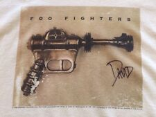 Dave Grohl Signed Ray Gun Foo Fighters Shirt 1995 Debut First Album Nirvana