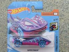 Hot Wheels 2018 #090/365 SUPER STINGER violet Rue Beasts