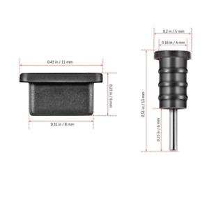 Staubschutz-Abdeckung USB-C und Audio Anschluss für Samsung Galaxy Note 10 Lite
