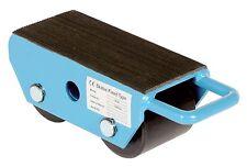 Vestil FMS-2.5 Fixed Machinery Skate with 2 Nylon Roller Steel 8-1/4