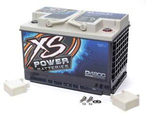 XS POWER BATTERY XS Power AGM Battery 12 Volt 815A CA P/N - D4800