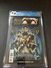 Rise Of The Black Panther #2 Marvel CGC 9.6 Chadwick Boseman Movie Photo Variant