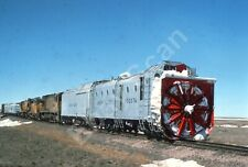 Union Pacific, UP 900076, Steam Rotary Snow Plow and train