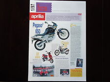 Prospekt APRILIA RS 250 125 Pegaso 650 Classic SR www Brochure Prospetto