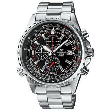 CASIO EDIFICE EF-527D-1AVEF Stopwatch 100m WR Mineral Glass 2 Yr Bat RRP £250.00