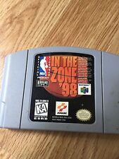 NBA: In the Zone '98 (Nintendo 64, 1998) N64 Game Cart Works NG1