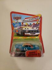 """Disney Pixar Cars RELEASE 4 """" CHASE PACKAGE""""  MARIO ANDRETTI - RED TICKET"""