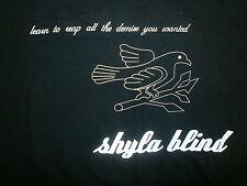 SHYLA BLIND CONCERT T SHIRT Silverspeak TIM O'KEEFE CLINT BISSETT Reap Demise M