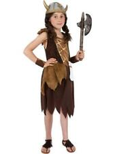Viking Girl Childrens Large 10 - 12 Years Book Week Fancy Dress Costume