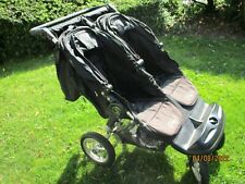 Twin Baby Jogger City Elite (similar to Mountain Buggy)  - WITH AIR WHEELS!!