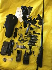 DJI Osmo Handheld 4K Camera 3-axis Gimbal SPORT BUNDLE 3 Batteries Tripod Extras