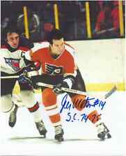 "Joe Watson Autographed Philadelphia Flyers 8"" x 10"" Photo w/COA Certification."