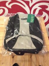 Vintage United Colours Of Benetton Backpack Black & Grey NOS BNWT