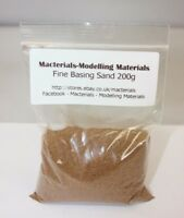 Fine Model Basing Sand 200g - First Class Postage - Kiln Dried Miniature Basing