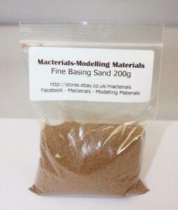 Fine Model Basing Sand 200g - First Class Postage - Kiln Dried Miniature Basing