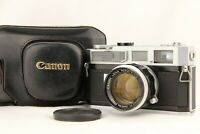 【 EXC+5 w/ Case 】 CANON 7 Rangefinder Camera w/ 50mm f/1.4 L39 Lens from JAPAN