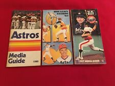 1980-2018 MLB Houston Astros media guide / You pick 'em / Bagwell / Ryan / Scott