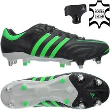 Adidas ADIPURE 11PRO XTRX SG schwarz grün Herren Leder Fußballschuhe NEU OVP