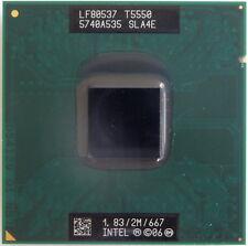 Procesador CPU Intel Core 2 Duo T5550 SLA4E 1.83Ghz 2MB  667Mhz