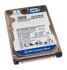 Wd1600beve Scorpio Blue Ide-festplatte mit 160 GB 2 5 Zoll (neu)