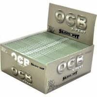 OCB Silver X-Pert Slim Fit King Size Smoking Rolling Papers - Multilisting
