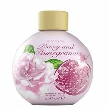 Avon Peony & Pomegranate bubble bath - 3 x 250ml - STOCK UP NOW - New