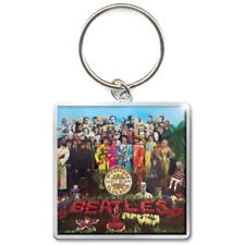 BEATLES Keychain Portachiavi Sgt Pepper OFFICIAL MERCHANDISE
