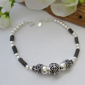 Damen Armband Silber 925 Jugendstil Keltischer Schmuck Bali Kette