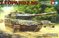 Tamiya 35271 1/35 Scale Military Model Kit German Leopard 2 A6 Main Battle Tank