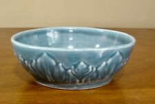 Vintage Steubenville Russel Wright Woodfield pattern dessert bowl in JUNGLE VGC