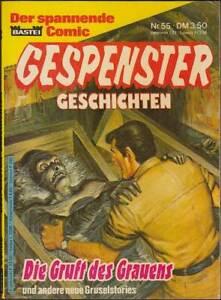 Gespenster Geschichten TB Band 55: Die Gruft des Grauens (1. Auflage 1988) Z 2+