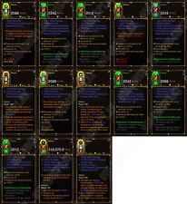Diablo 3 RoS XBOX ONE [HARDCORE] New 2.6 Havoc Demon Hunter Set 150 Grift Easy!