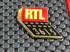 pins pin BADGE MEDIA PRESSE RTL MINITEL 36 15