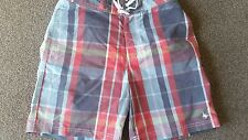 Jack Wills XS mens swimming trunks checked