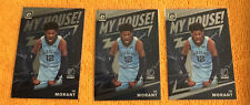 2019-20 Donruss Optic My House JA MORANT Lot of (3) RC #7 Grizzlies🏀🔥🔥🔥