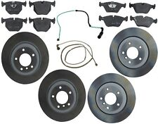 NEW For BMW E46 330Ci 330i 330Xi GENUINE Front+Rear Brake KIT Discs Pads Sensors
