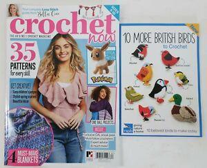 CROCHET NOW #67 UK Magazine 2021 w/British Bird Book ~ FREE SHIP