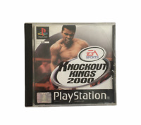 Knockout Kings 2000 Playstation PS1 Game Complete in Box CIB