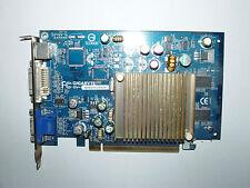 Gigabyte NVIDIA GeForce 6200, 256 MB DDR, DVI, VGA, S-video, gv-nx62tc256de