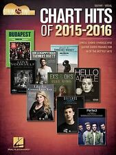 Chart Hits of 2015-2016 - Strum and Sing Guitar : Lyrics, Chord Symbols and...