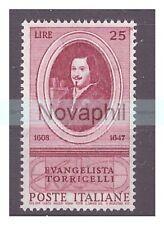 ITALIA  1958 - EVANGELISTA TORRICELLI  NUOVO **