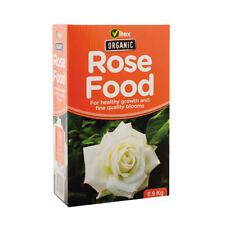 Vitax Organic Rose Food Fertiliser For Rich Green foliage Abundant Blooms 900g