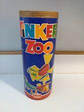 Vintage Tinkertoy Tinker Zoo #727 Empty Original Container No Lid Prop Display